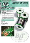 Nitrosol SN100SB Solder Wire